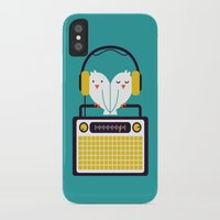 radio iPhone & iPod Cases featuring Radio Mode Love by Picomodi