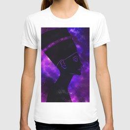 Queen Nefertiti Nebula Dark Space Skyscape T-shirt