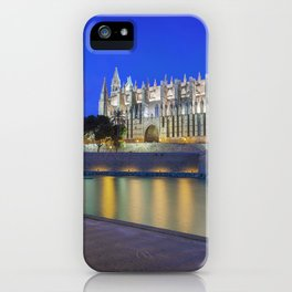 Palma Cathedral,Mallorca,Spain iPhone Case