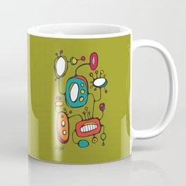 Scribbles 02 in Color Coffee Mug