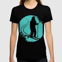 Cross Country Skiing Ski Winter Sports Gift T-shirt