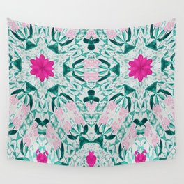 Vintage Pink Duo Wall Tapestry