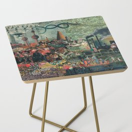 Seed Stone Side Table