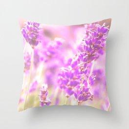 Lavender? Throw Pillow
