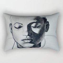 Shadow Girl Rectangular Pillow