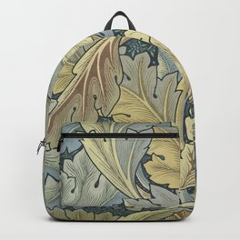 William Morris Acanthus Leaves Floral Art Nouveau Backpack