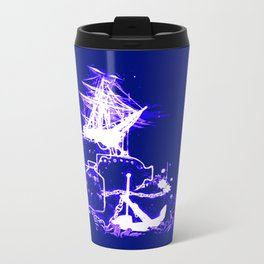 Lost at Sea Metal Travel Mug