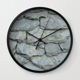 Roof stones Wall Clock
