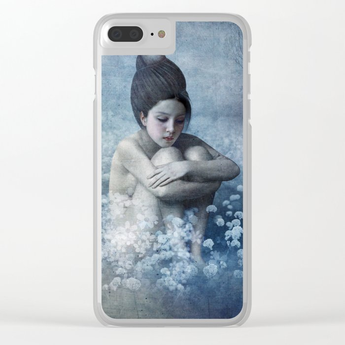 Shadow Field Clear iPhone Case