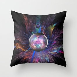Shift in Consciousness Throw Pillow