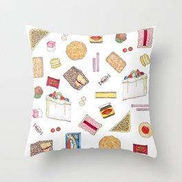 Australiana Foods Throw Pillow