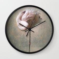 Sleeping Flamingo  Wall Clock