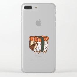 Puglie Sushi Clear iPhone Case