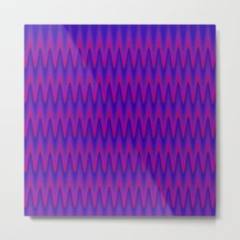 Analagous Wave Metal Print