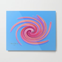 The whirl of life, W1.3C Metal Print