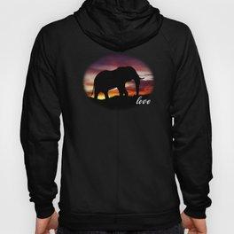 Elephant Lover Gift Hoody
