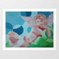 l'angelo Art Print