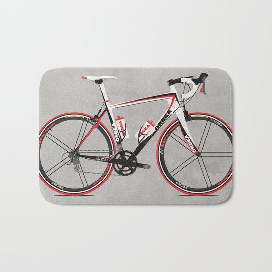 Race Bike Bath Mat