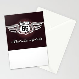Winged Spirit of Route 66 Stationery Cards