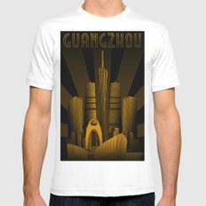 Guangzhou (China) Mens Fitted Tee White MEDIUM