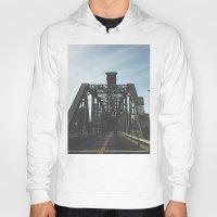 bridge Hoodies featuring BRIDGE by URBANEUTICS