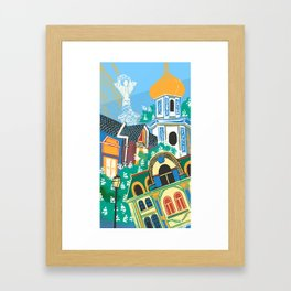 Kyiv Framed Art Print