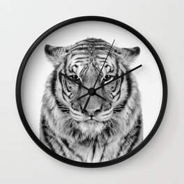 African Tiger Wall Clock