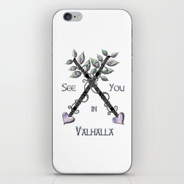 Valhalla iPhone Skin