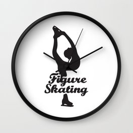 Figure Skating Wall Clock