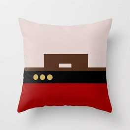 William Riker - Minimalist Star Trek TNG The Next Generation - Commander - startrek - Trektangles Throw Pillow