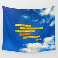 return Wall Tapestries featuring Return to Me by Peter Gross
