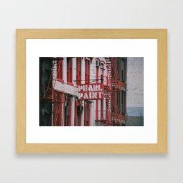 Pearl Paint Framed Art Print