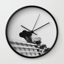 Basslovers Wall Clock