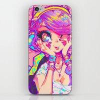 barachan iPhone & iPod Skins featuring shinsui by barachan