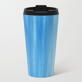 Blue watercolor pearl! Travel Mug