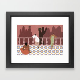Amitié & Aventures II Framed Art Print
