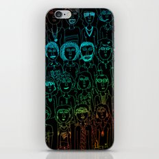 So Many People iPhone & iPod Skin