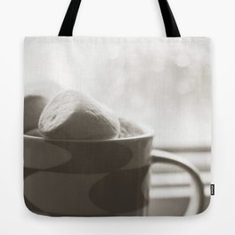 sunday hot chocolate.  Tote Bag