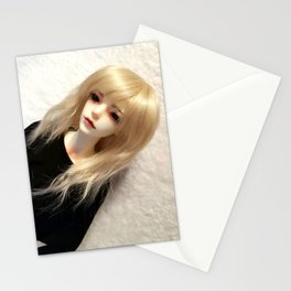 Blond Vampire Boy ball-jointed doll Stationery Cards