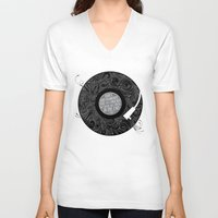 equality V-neck T-shirts featuring Equality by Rachel Caldwell