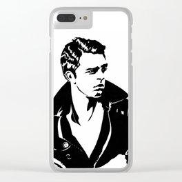 Sebastian Stan Clear iPhone Case