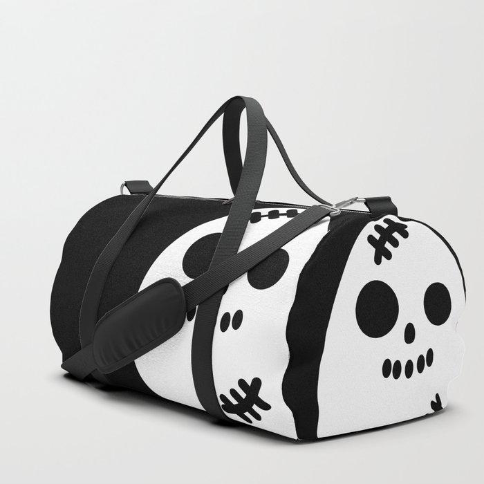 Creepy Egg Skull - Halloween Duffle Bag