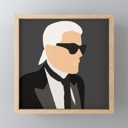 Karl Lagerfeld Framed Mini Art Print