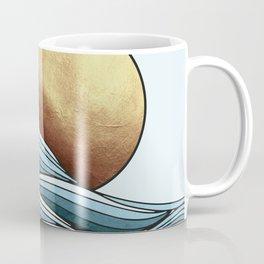 Golden Ocean Sunset Coffee Mug
