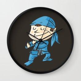 Kamae de ninjutsu  la postura del ninja Wall Clock