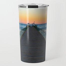 Sunrise on Red Sea Travel Mug