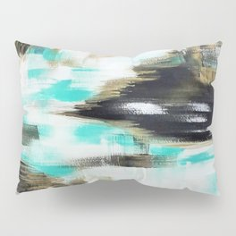 Black and gold pattern Pillow Sham