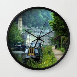 Rochdale Canal Hebden Bridge Wall Clock