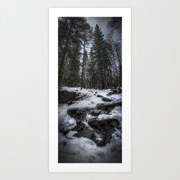 Skogens blod Art Print