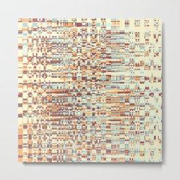 Abstract pattern 103 Metal Print